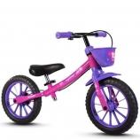Bicicleta Balance Bike Infantil Aro 12
