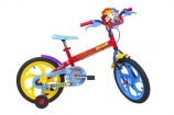 Bicicleta Caloi Luccas Neto Aro 16