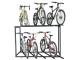 Bicicletário Altmayer de 2 andares c/ rodízio 2mts AL-101