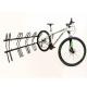 Bicicletário Altmayer de parede p/ 5 bicicletas AL-22