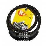 Cadeado Kingway Espiral 80cmX12mm com segredo
