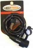 Cadeado Espiral 150cmX12mm com chave