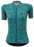 Camisa de Ciclismo Feminina Marcio May Funny Premium Dragonfly
