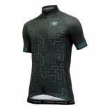 Camisa de Ciclismo Masculina Free Force Puzzle