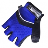 Luva Damatta Dedo Curto LV-01 Azul